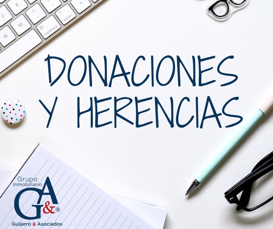 Donaciones y Sucesiones