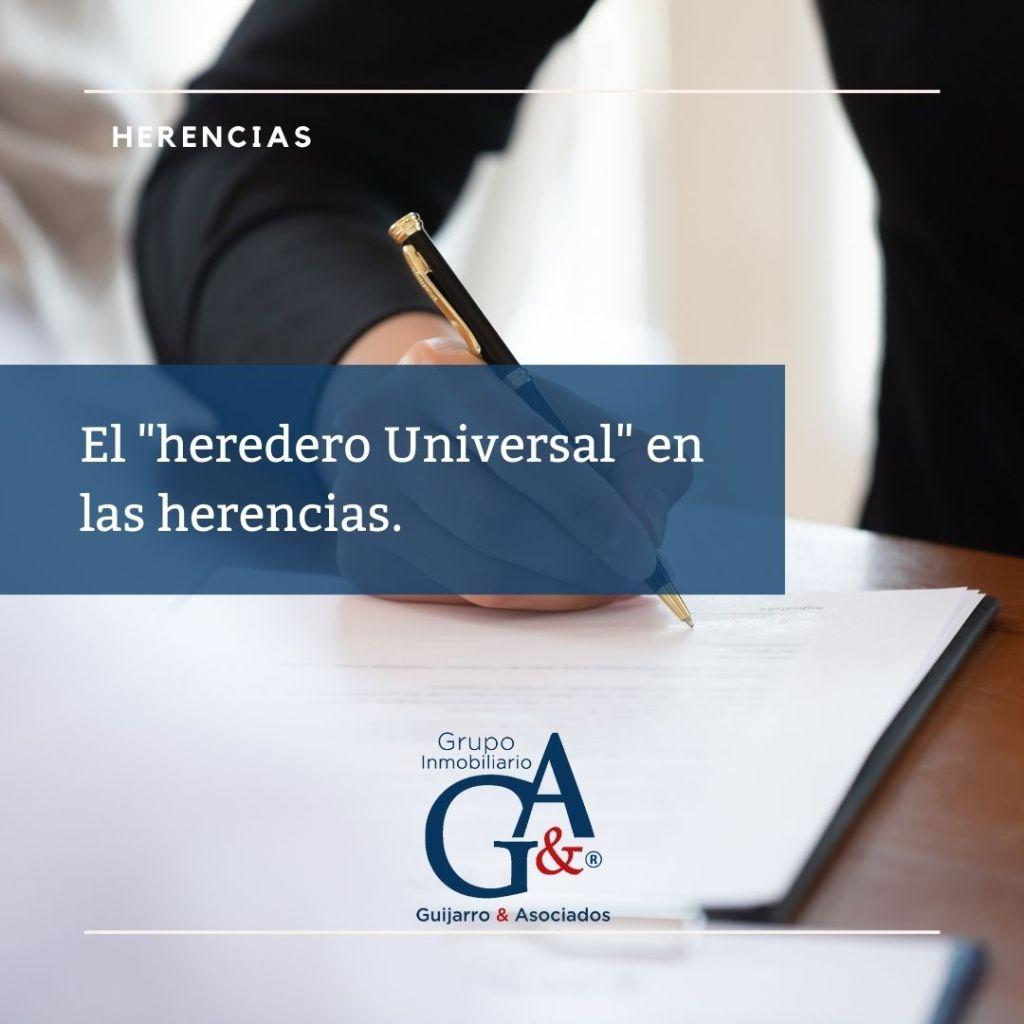HERENCIA UNIVERSAL