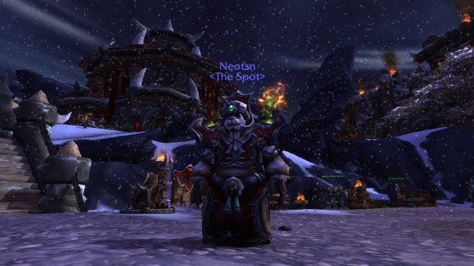 Warlords of Draenor became World of Garrison, because we rarely, and never had to.
