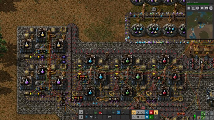 Factorio Lab Resource Clusters