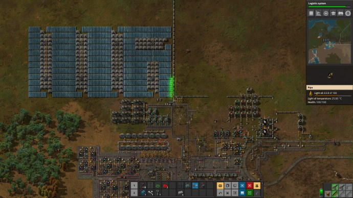Factorio Power Generation