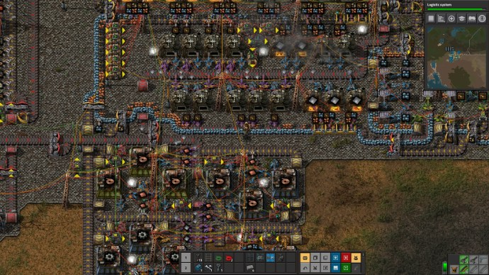 Factorio Raw Material Processing