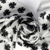 Anna Newton - Silk Scarf Swirling Leaves sq1