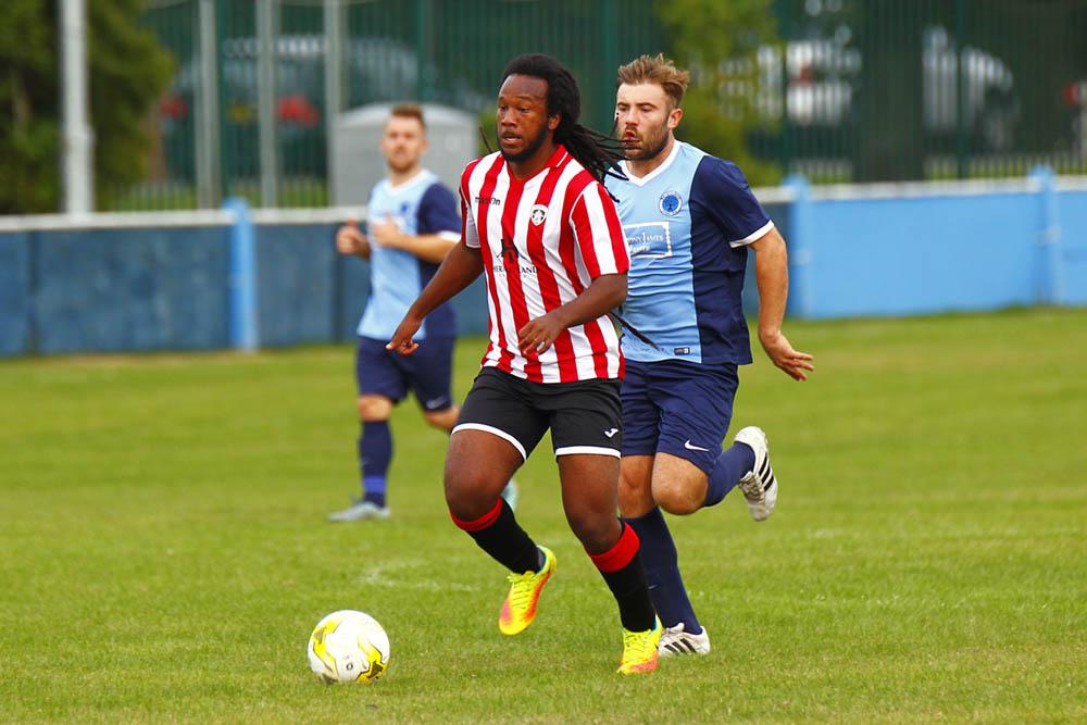 24/09/2016. Spelthorne Sports v Guildford City