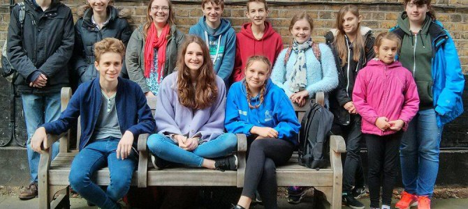 First Guildford Guild Young Ringers Outing