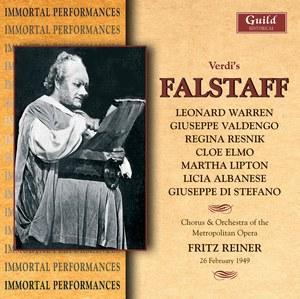 Falstaff  Verdi  Warren  Valdengo Reiner