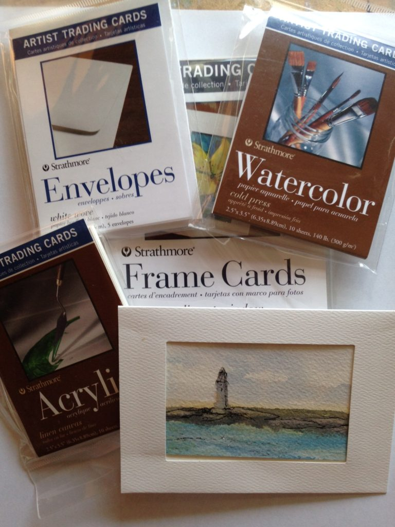 Discuss Artist Trading Cards with Anne Briggs