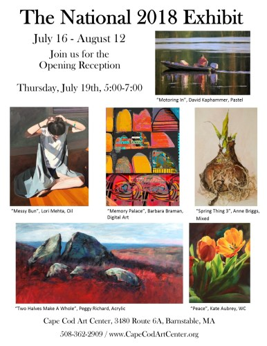 """Anne Briggs Exhibits in """"The National 2018 Exhibit"""""""