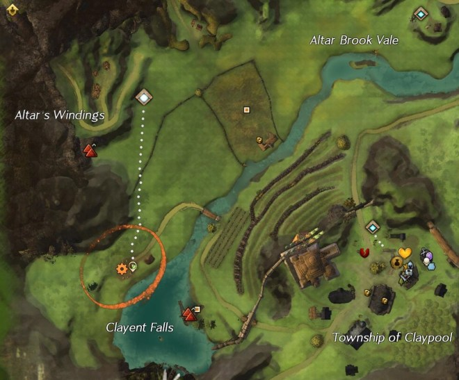 Fiona Hastings Map