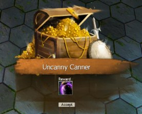 Uncanny Jar Reward
