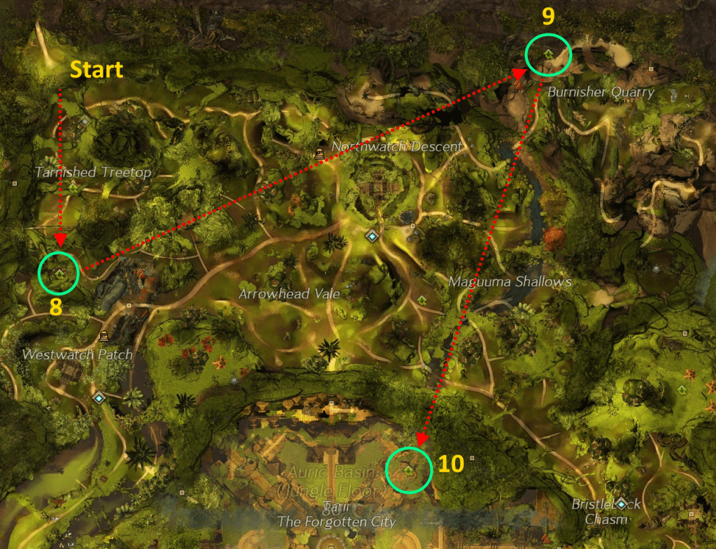 Auric Basin HP Map