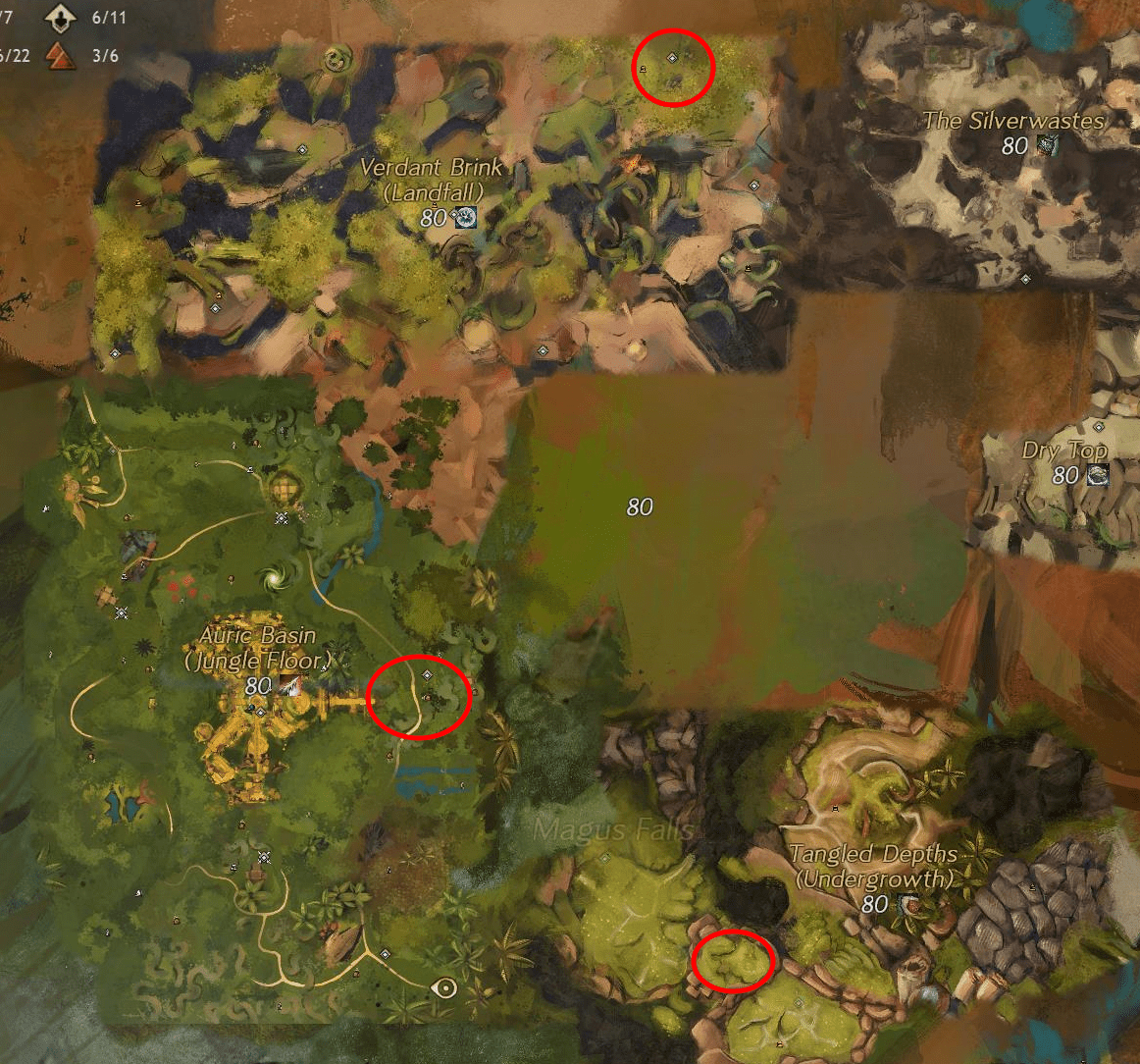 Flax Seed Farm Locations Guide | Guild Wars Hub