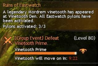 Vinetooth Prime Event