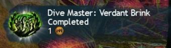 Verdant Brink Dive Master Success