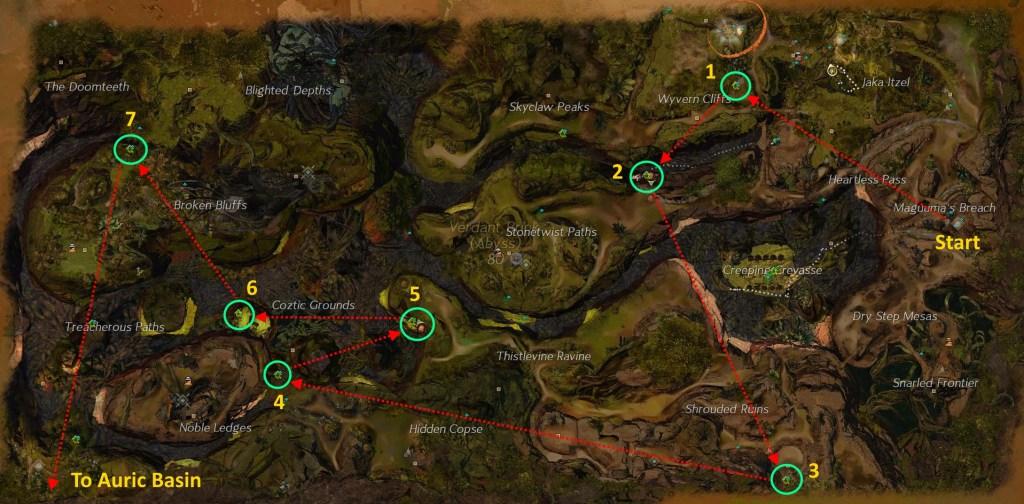 Verdant Brink HP Map