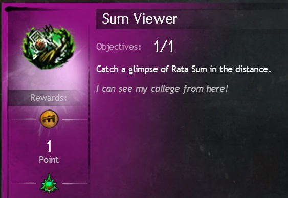 Sum Viewer Achievement