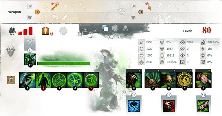 Minion Mancer Build Editor