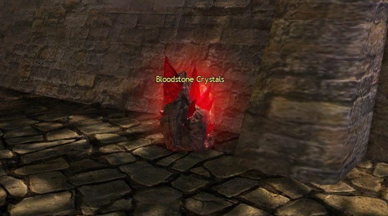 Bloodstone Crystal Node