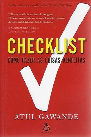 Book Cover: Checklist - Como fazer as coisas bem feitas
