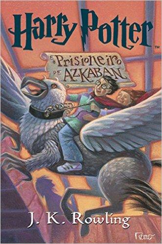 Capa de Livro: Harry Potter e o Prisioneiro de Azkaban