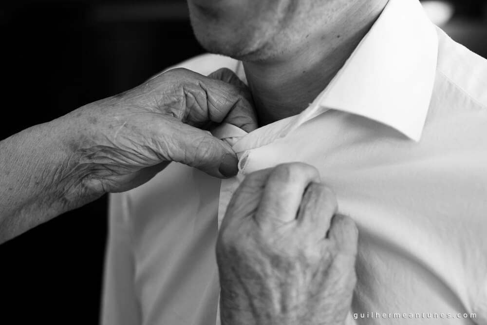 Fernanda e Charles: Fotografia de casamento em Lages (O botão)