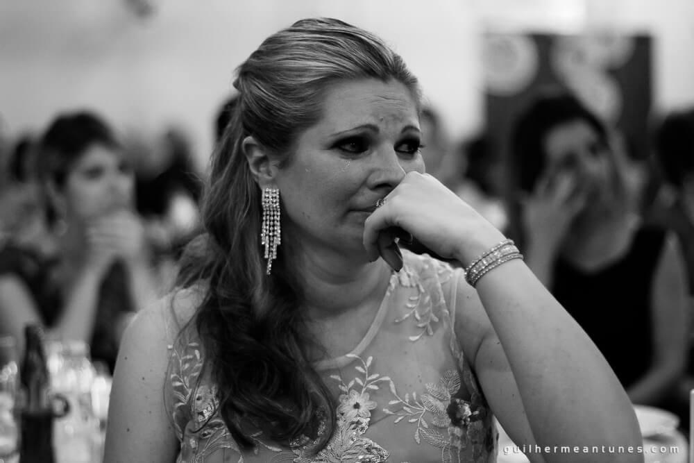 Fernanda e Charles: Fotografia de casamento em Lages (Convidada emocionada)