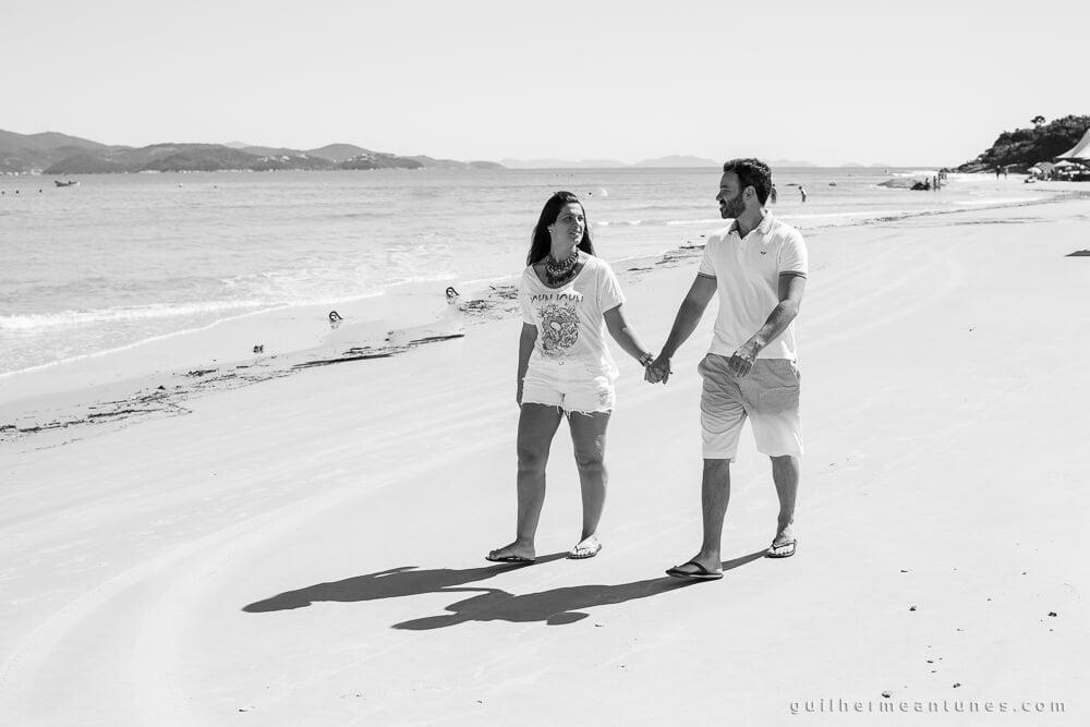 Ensaio Pré-Wedding Florianópolis praia