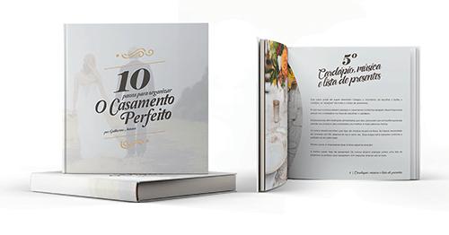E-book 10 passos para organizar o casamento perfeito