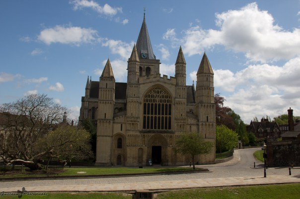 La cathédrale de Rochester, ou l'église cathédrale du Christ et la Vierge Marie