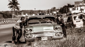 On the road at Cuba