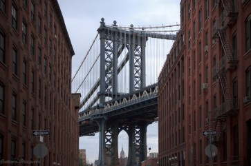 Brooklyn Bridge - Brooklyn street