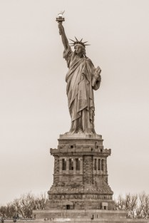 La Liberté éclairant le monde, plus connue sous le nom de Statue de la Liberté - New-York
