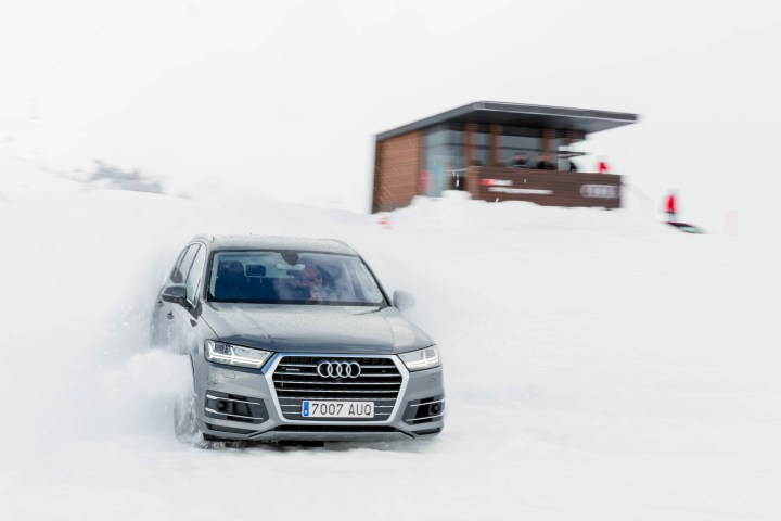 Audi driving experience @ Bequeira Beret