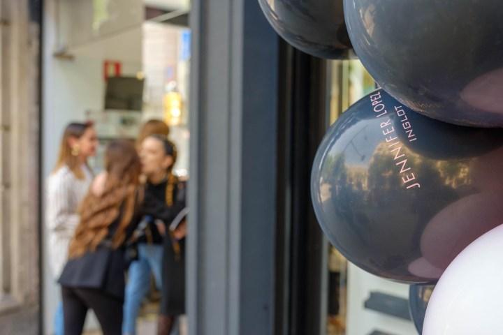 Inauguració botiga Inglot by Jennifer López a Barcelona