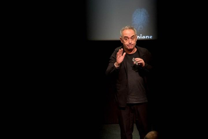 Xerrada d'en Ferran Adrià per Vida Caixa @ La Caixa