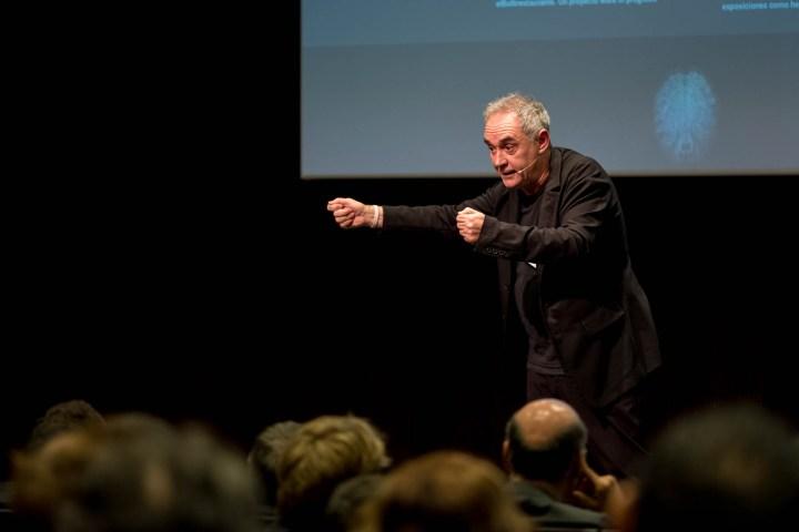 Charla de Ferran Adrià para Vida Caixa @ La Caixa