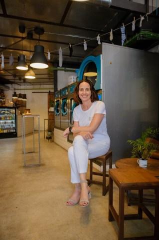 Sessió de retrats a Sarah Friar, CEO de Nextdoor