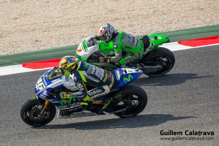 2014 MotoGP Catalunya 005 Valentino Rossi - Hiroshi Aoyama