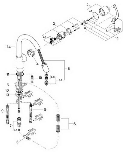 Grohe Ladylux Cafe Parts : grohe, ladylux, parts, Grohe, 33757, Ladylux, Café, Parts, Catalog