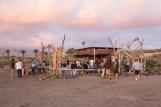 Chiringuito hippie en Las Galletas.