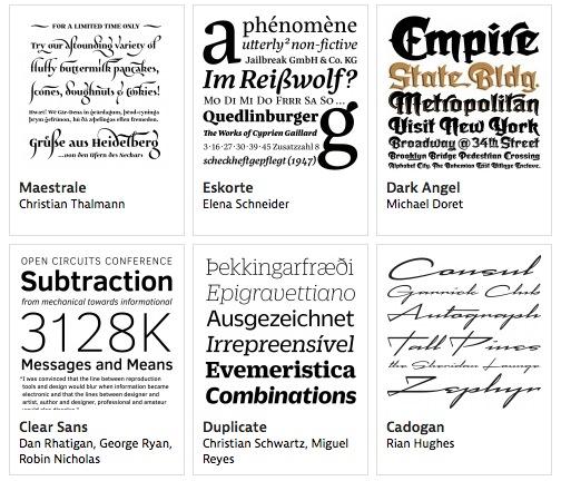 mejores tipografías