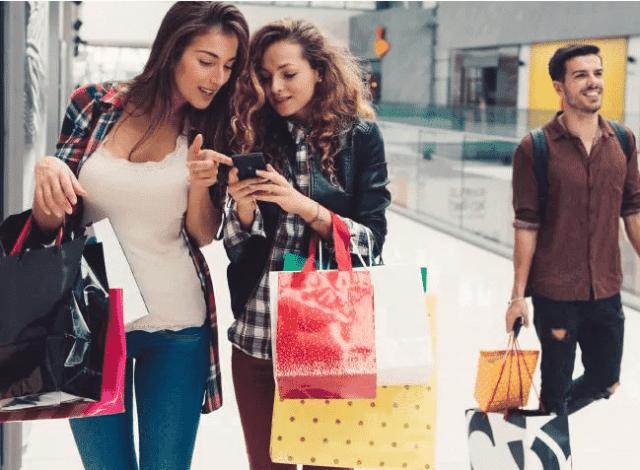 Haciendo compras