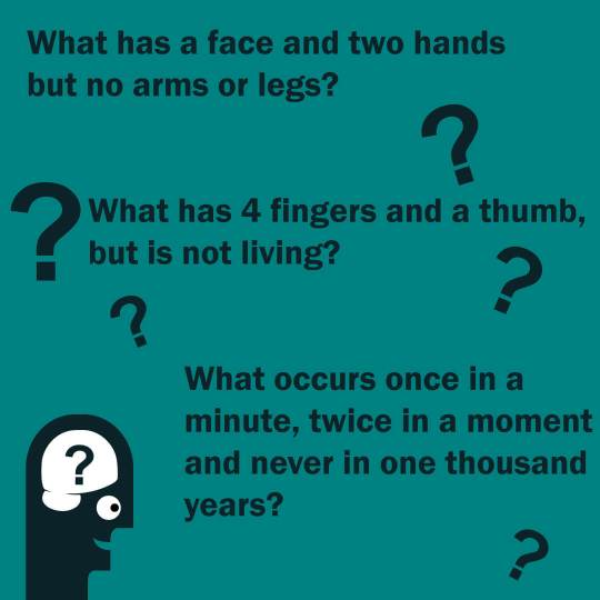 riddles with answers