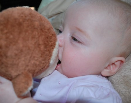 Me eating my monkey!