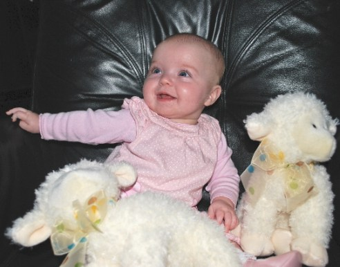 Me and my little lambies!