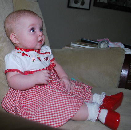 Do you like my Ruby Red Shoes?   I keep clicking the heels together and hoping you are having happy thoughts of being home one day soon!