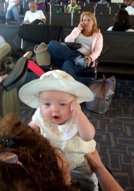 Oh no.... after all that traffic ---don't say we will miss our plane!