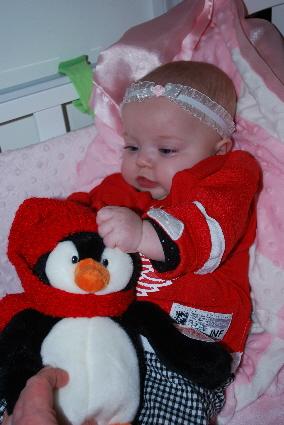 I could wrestle a Penguin!