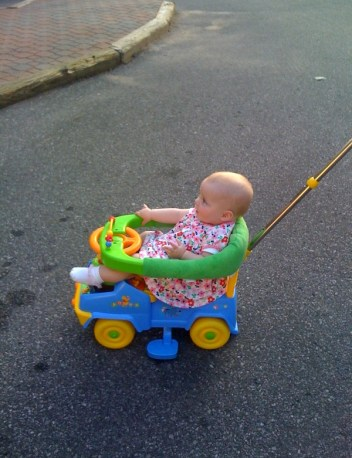 THIS IS THE LIFE!   BEEP BEEP... LOOK OUT HERE I COME!
