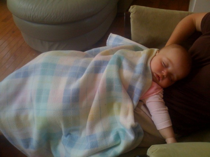 When I finally do fall asleep... I SLEEP!